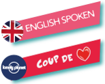 Les Pas du Guide : English spoken et Coup de coeur Lonely Planet